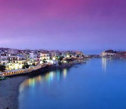 chersonissos by night